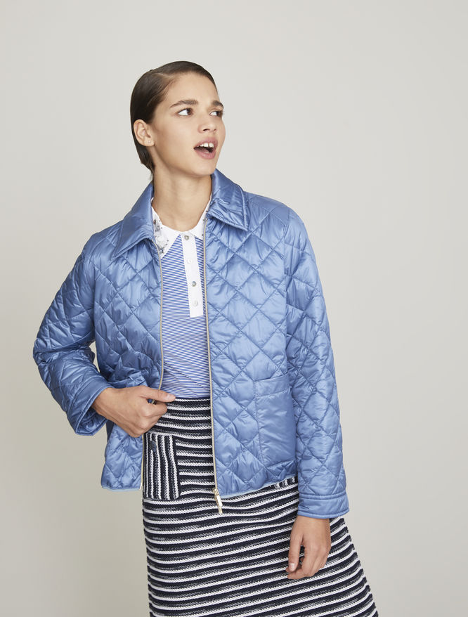 Quilted bomber iBlues