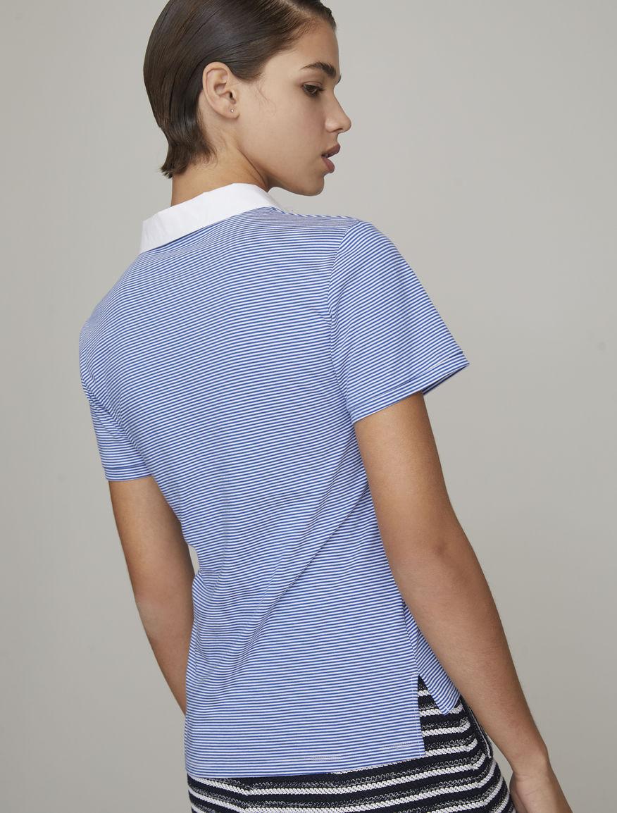 Embellished polo shirt