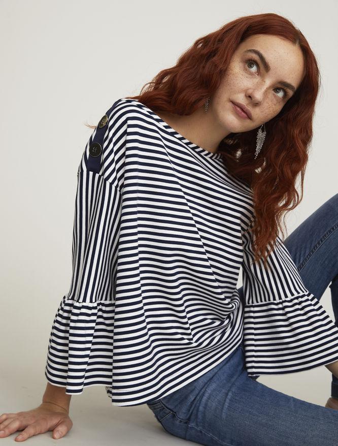 Striped sweater iBlues