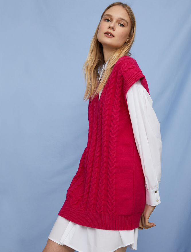 Relaxed-fit gilet iBlues