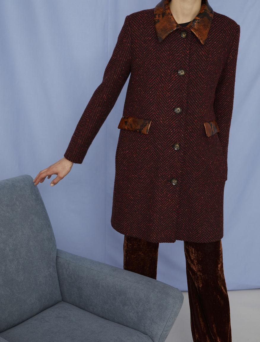 A-line coat