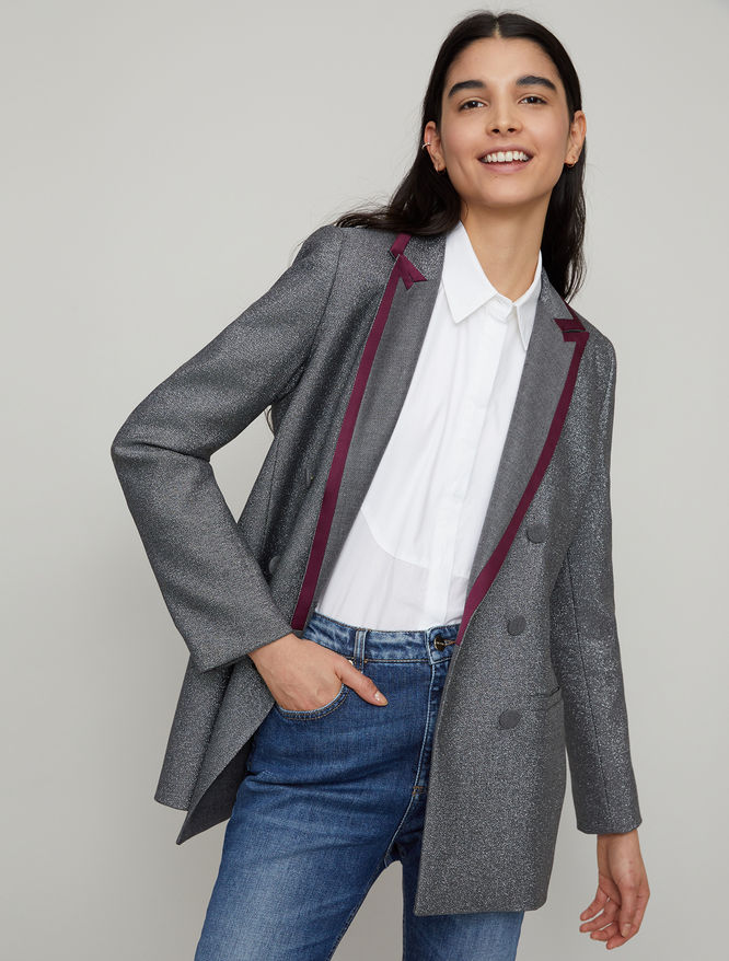Double-breasted blazer iBlues