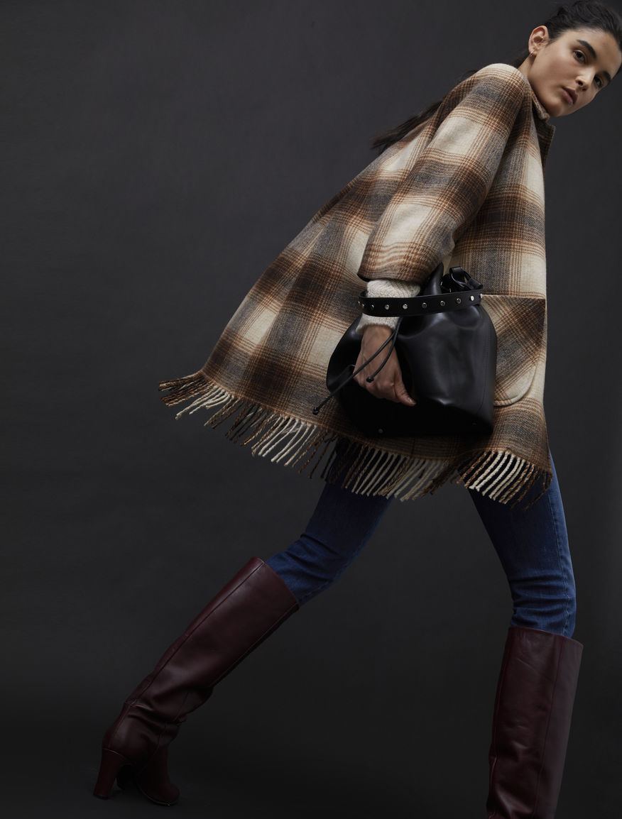 Fringed coat
