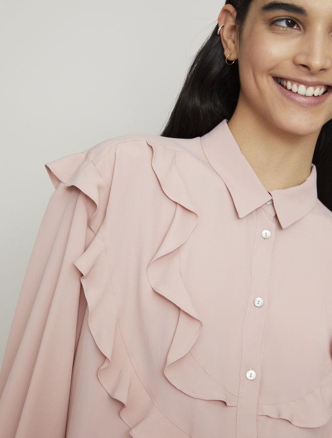 Silk-blend shirt iBlues