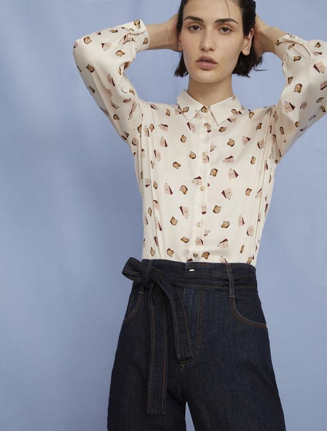 Satin shirt iBlues