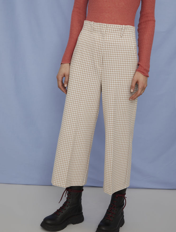 Wide-leg trousers iBlues