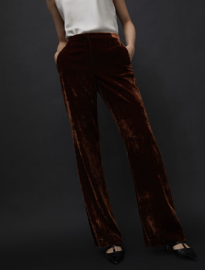 Bootcut trousers iBlues