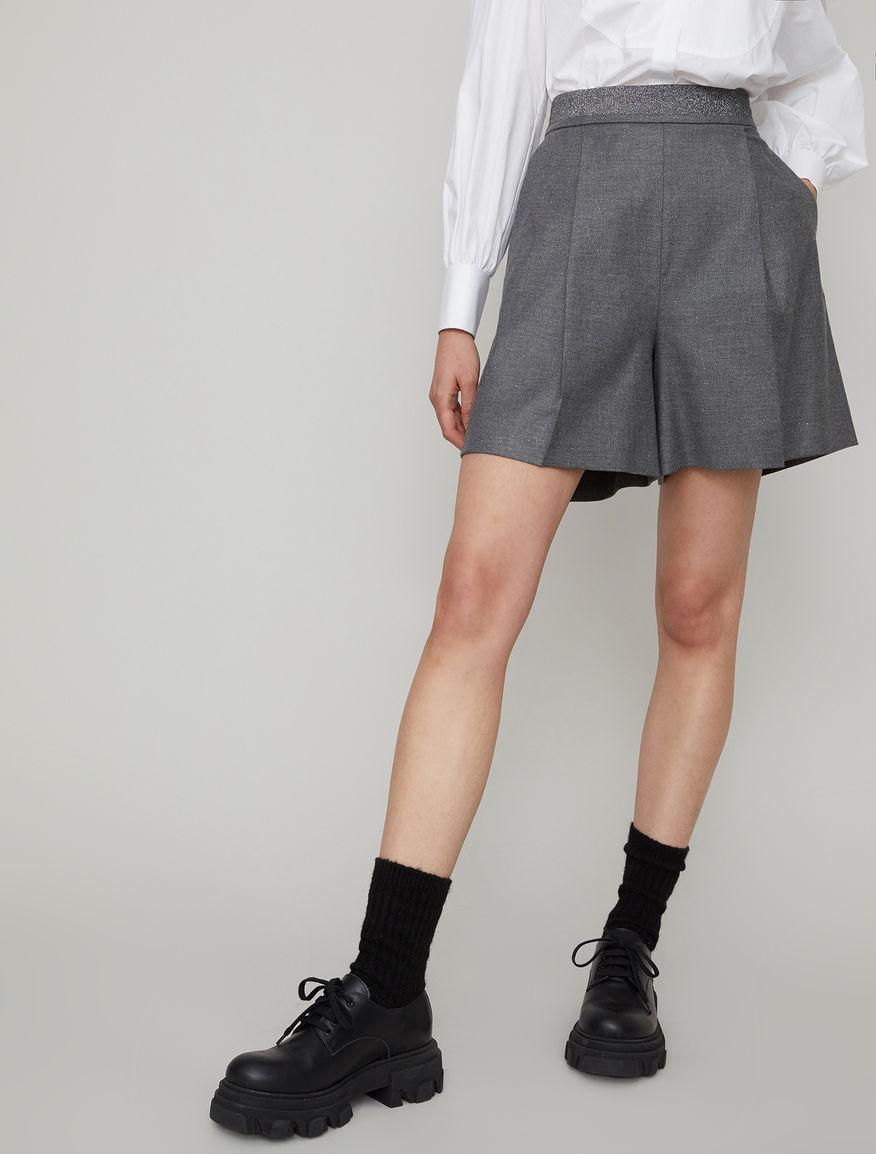 Lurex shorts