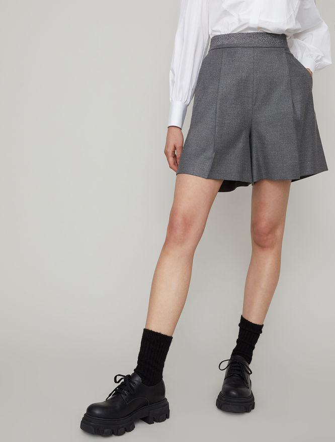 Lurex shorts iBlues