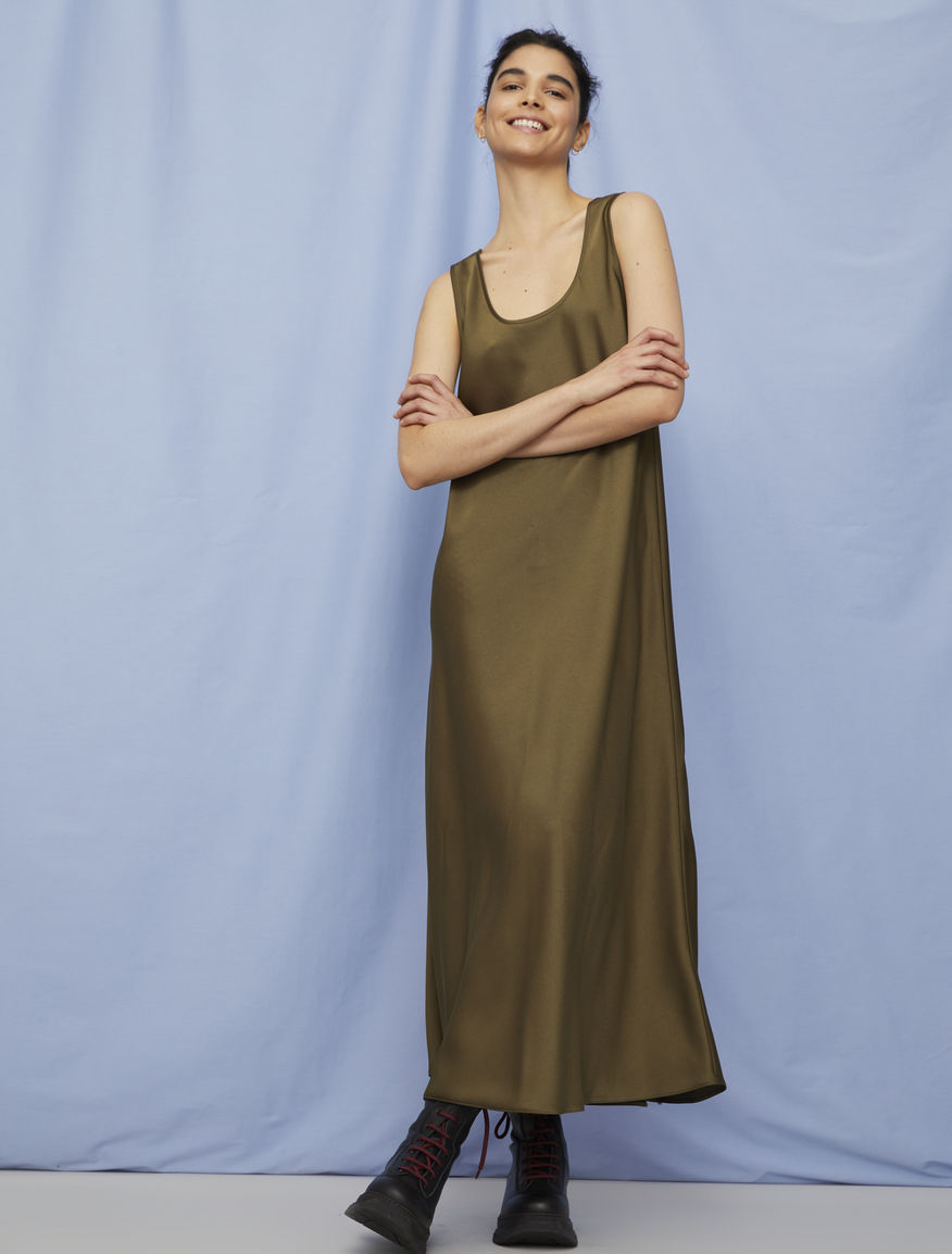 Relaxed-fit dress