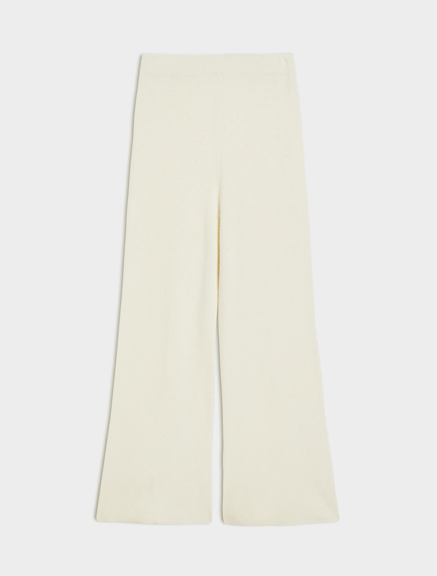 Cashmere-blend trousers