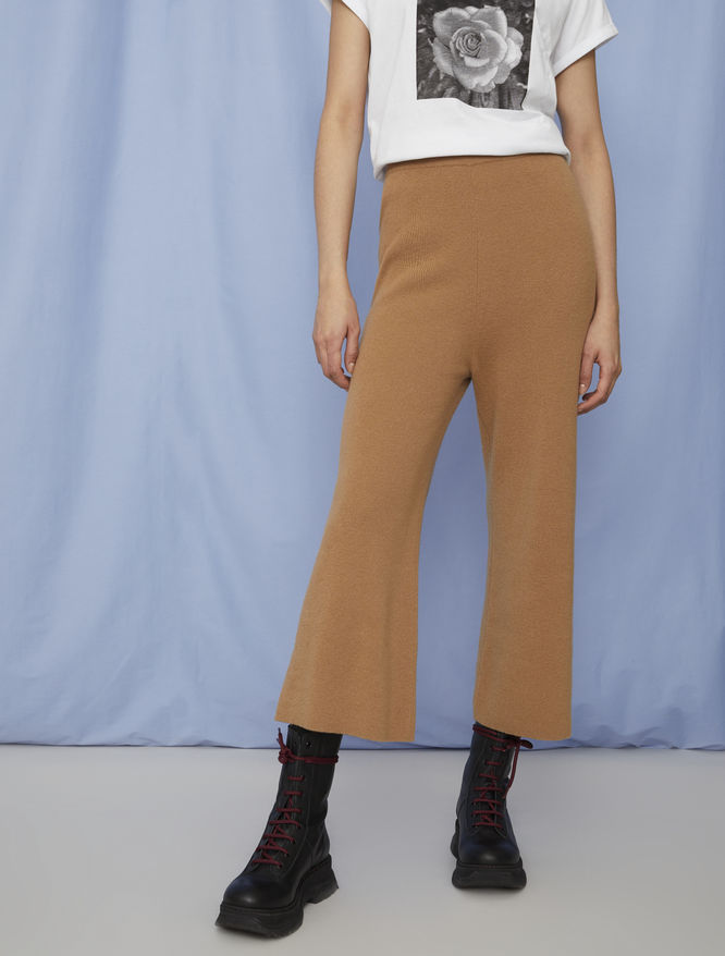 Cashmere-blend trousers iBlues