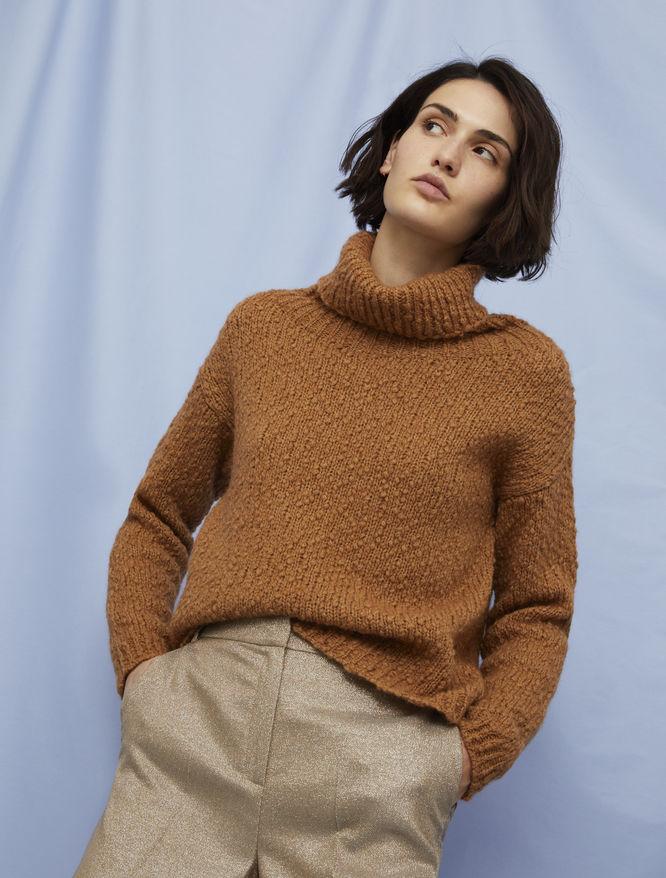 High-neck sweater iBlues