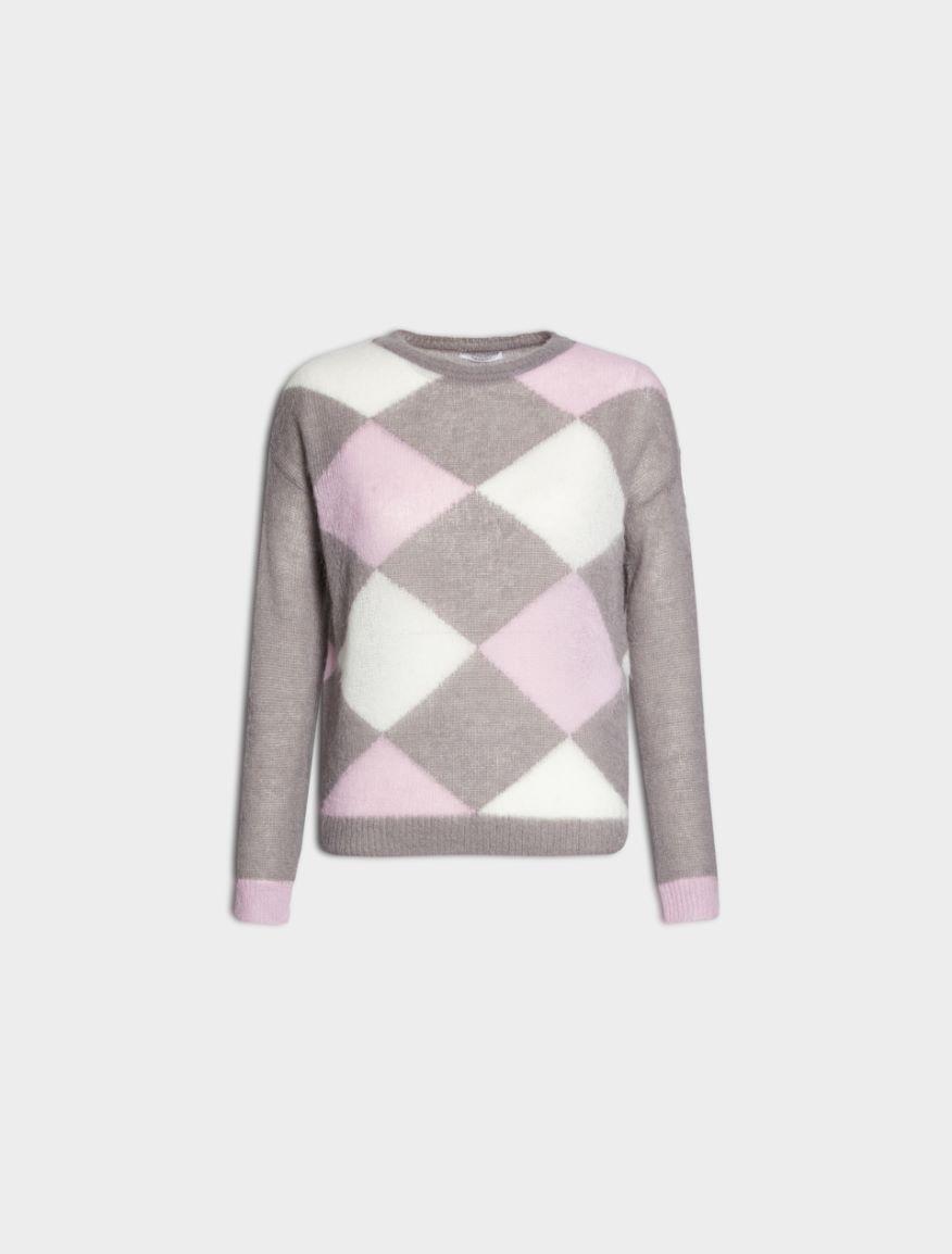 Inlaid sweater
