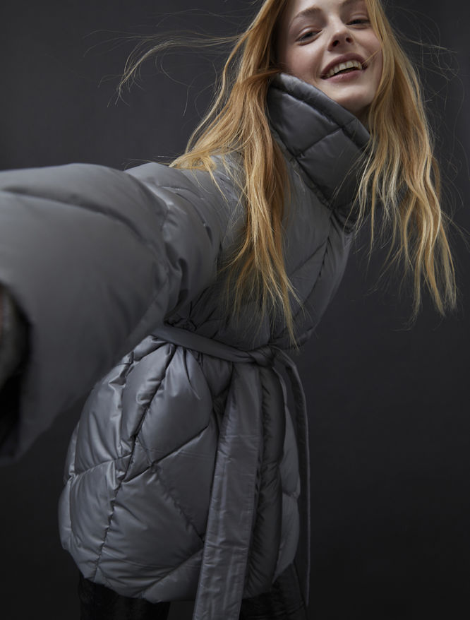 Short quilted jacket iBlues