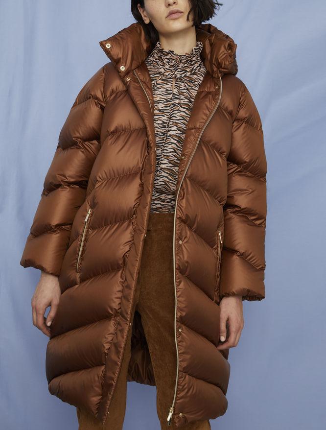 Hooded padded jacket iBlues