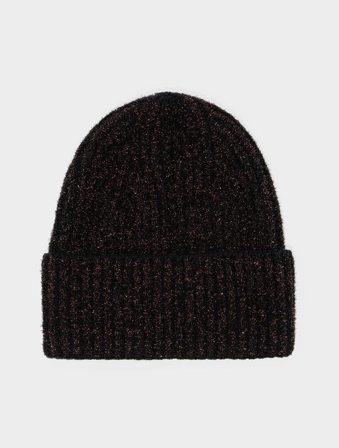 Lurex-blend beanie hat iBlues