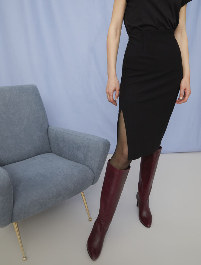 Semi-fitted skirt iBlues