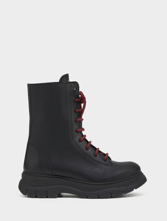 Lace-up combat boots iBlues