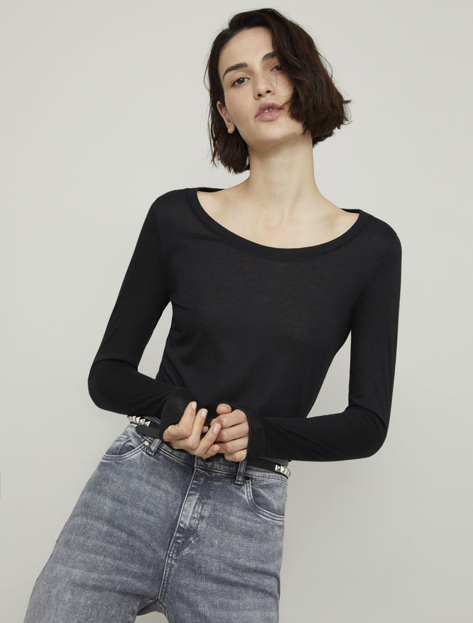 Cashmere-blend sweater iBlues